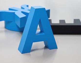 Объемных буквы — изготовление по доступным ценам